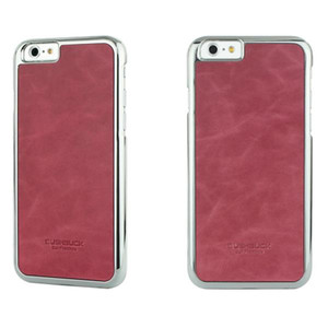 BUSHBUCK BARONAGE Classical Edition - Etui skórzane do iPhone 6s / iPhone 6 (fuksja)