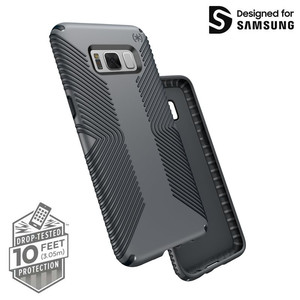 Speck Presidio Grip - Etui Samsung Galaxy S8 (Graphite Grey/Charcoal Grey)