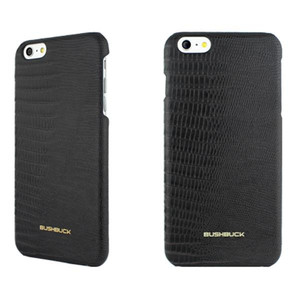 BUSHBUCK LIZARD Leather Case - Etui skórzane do iPhone 6s Plus / iPhone 6 Plus (czarny)