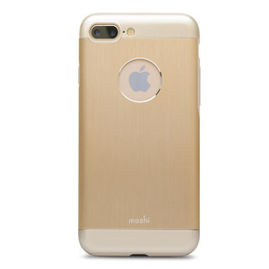 Moshi Armour - Etui aluminiowe iPhone 7 Plus (Satin Gold)