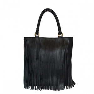Borsa in Pelle Shopper Sofia czarna