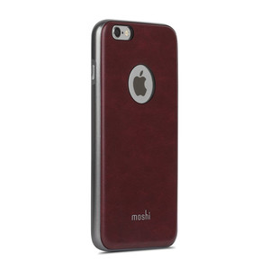 Moshi iGlaze Napa - Etui iPhone 6s Plus / iPhone 6 Plus (Burgundy Red)