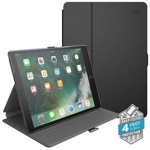 "Speck Balance Folio - Etui iPad Pro 10.5"" (2017) w/Magnet & Stand up (Black/Slate Grey)"