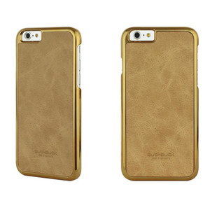 BUSHBUCK BARONAGE Classical Edition - Etui skórzane do iPhone 6s Plus / iPhone 6 Plus (morelowy)