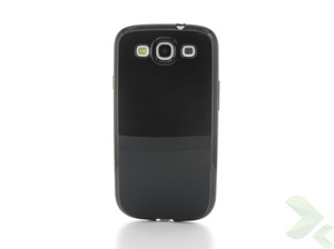 Geffy - Etui Samsung Galaxy S III TPU solid color black