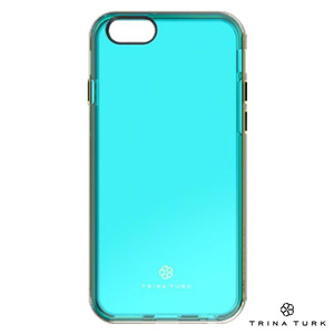 Incipio Trina Turk 2-Pc Case With Metallic Bumper - Etui iPhone SE / iPhone 5s / iPhone 5 (Blue/Gold)