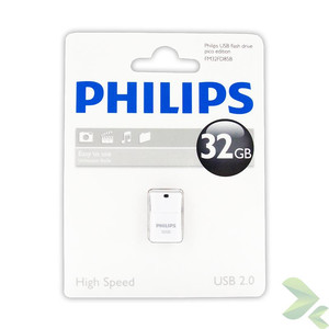 Philips Pendrive USB 2.0 32GB - Pico Edition (szary)